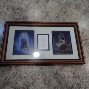 dicksons lord prayer picture with frame